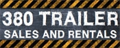 380 Trailer Sales and Rental logo