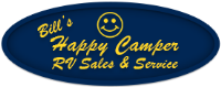 Bill's Happy Camper RV Sales Logo